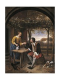 Traveler's Rest Giclee Print by Jan Havicksz. Steen