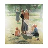 Mammies, 1892 Giclee Print by Giuseppe Pelizza da volpedo