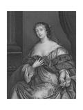 La Belle Hamilton Giclee Print by Sir Peter Lely