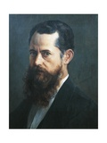Self-Portrait, 1894 Giclee Print by Jose Maria Velasco