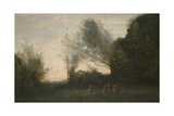 The Dance of the Nymphs, 1865-70 Giclee Print by Jean-Baptiste-Camille Corot