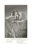 Napoleon on St Helena Giclee Print by Hippolyte Delaroche