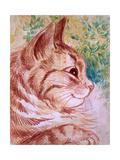 Kaleidoscope Cats I Giclee Print by Louis Wain