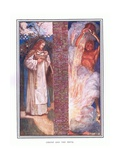 Christ and the Devil Giclee Print by John Byam Liston Shaw
