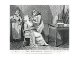 The Finishing Touch,1794 Giclee Print by Isaac Cruikshank