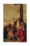 The Miracle of the True Cross, 1750 - 1750 Giclée-tryk af Giandomenico Tiepolo