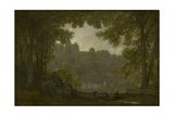 Forest Landscape Giclee Print by Jean-Baptiste-Camille Corot