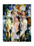 The Three Graces, 1912 Impressão giclée por Robert Delaunay