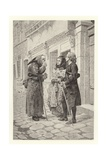 The Snuff-Box Giclee Print by Maurice Leloir