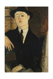 Paul Guillaume Seated Giclee Print by Amedeo Modigliani