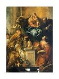 Ferri Altarpiece Giclée-tryk af Antonio Guardi