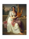 Isabella Colbran, 1817 Giclee Print by Johann Heinrich Schmidt