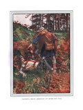 Faithful Helps Christian Up after His Fall Giclee Print by John Byam Liston Shaw