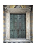 Portal of Amalfi Cathedral Giclee Print