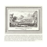 Battle of Quiberon, France, 21 July 1795 Giclee Print by Jean Duplessis-bertaux