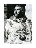 Adam Van Noort Giclee Print by Sir Anthony van Dyck
