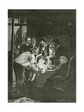 Souvenir De La Nuit Du 4, 19th Century Giclee Print by Henri Gervex
