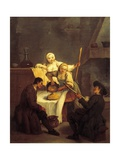 Polenta Giclee Print by Pietro Longhi