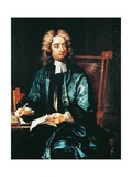 Portrait of Jonathan Swift, C.1718 Giclee Print by Charles Jervas