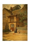 The Porch, Spenser's Cottage, Hurstwood, 1907 Giclee Print by Joseph Ogden