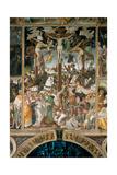 The Crucifixion, 1513 Giclée-tryk af Gaudenzio Ferrari