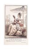 La M. De Des Bouquets, 1786 Giclee Print by Louis Joseph Watteau