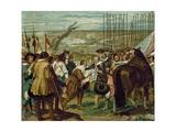 The Surrender of Breda, Netherlands, 1625 Giclée-Druck von Diego Rodriguez de Silva y Velazquez