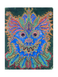 Kaleidoscope Cats V Giclee Print by Louis Wain