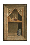 Niche with Paten, Pyx and Ampullae, 1327 - 1338 Giclee Print by Taddeo Gaddi