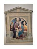 St Anne with Mary Magdalene and St Ursula Giclée-tryk af Domenico Beccafumi
