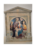 St Anne with Mary Magdalene and St Ursula Giclee Print by Domenico Beccafumi