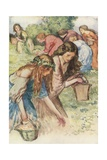 Prothalamion by Edmund Spenser Giclee Print by Robert Anning Bell