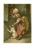 Old Mother Hubbard Giclee Print by John Lawson