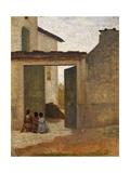 Viaticum, Circa 1864 Giclee Print by Silvestro Lega