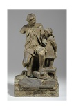Maquette for Joshua Reynolds with Child Giclee Print by William Hamo Thornycroft