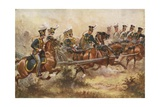 Royal Horse Artillery, C1832 Giclee Print by Henry Payne