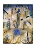 Sirens of Ships, 1917 Giclee Print by Paul Klee