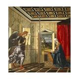 Annunciation, Circa 1500 Giclee Print by Giovanni Bellini