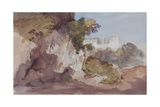 Landscape with Distant Buildings Giclee Print by Hercules Brabazon Brabazon