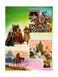 The Story of El Cid Giclee Print by Andrew Howat