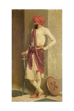 A Kattiwar Sentry Giclee Print by Horace Van Ruith