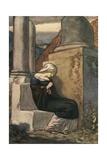 Melancholy by John Fletcher Giclee Print by Robert Anning Bell
