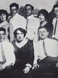 New York Mafia Members at Coney Island, 1912 Photographic Print