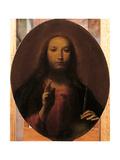 Christ Blessing Giclée-tryk af Giuseppe Maria Crespi