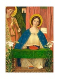 The Annunciation Giclee Print by Arthur Joseph Gaskin
