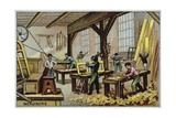Carpentry Giclee Print