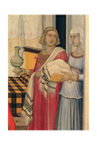 Birth of the Virgin Mary, 1342 Giclee Print by Pietro Lorenzetti