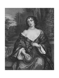 Elizabeth Bagot, Countess of Falmouth and Dorset Giclee Print by Sir Peter Lely