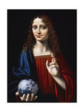 Blessing Christ, Ca 1530 Giclee Print by Marco D'oggiono