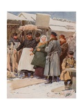 The Frozen-Meat Market Giclee Print by Frederic De Haenen